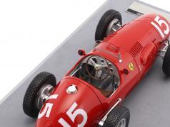 Alberto Ascari Ferrari 500 F2 #15 campione del mondo Gran Bretagna GP formula 1 1952 1:18 Tecnomodel