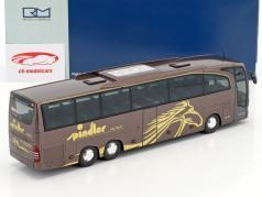 Mercedes-Benz Travego M Spindler Wehringen marrone metallico / oro 1:43 Rietze