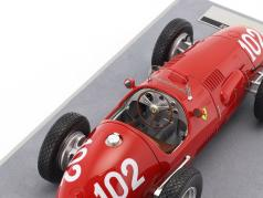 Giuseppe Farina Ferrari 500 F2 #102 2 ° Germania GP formula 1 1952 1:18 Tecnomodel