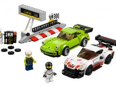 LEGO® Speed Champions Porsche 911 RSR #1 & 911 Turbo 3.0