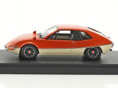 Porsche 914 Heuliez Murene year 1970 orange / white 1:43 AutoCult