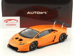 Lamborghini Huracan LP620-2 Super Trofeo année de construction 2016 orange métallique 1:18 AUTOart