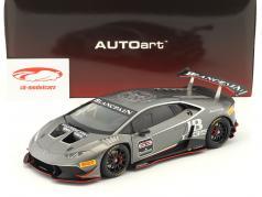 Lamborghini Huracan LP620-2 Super Trofeo #63 année de construction 2016 titane gris 1:18 AUTOart