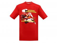 Michael Schumacher Fan-Collection T-Shirt Racing rot