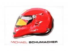 Michael Schumacher T-Shirt Champion Icon Tour 2011 branco
