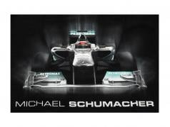 Michael Schumacher T-Shirt Tech grafico nero