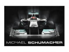Michael Schumacher T-Shirt Tech gráfico preto