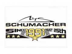 Michael Schumacher T-Shirt 25th August 1991 branco