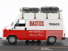 Fiat Ducato Rallye Assistance Bastos white / red 1:43 Ixo