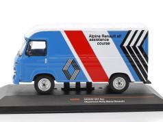 Saviem SG 2 van Rallye Assistance Alpine Renault blue / White / red / black 1:43 Ixo