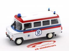 Nysa 522 Ambulance white / red / blue 1:43 Altaya
