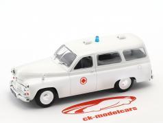 Warszawa 202A ambulanza bianco 1:43 Altaya