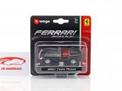 Ferrari 250 Testa Rossa schwarz in Blister 1:43 Bburago