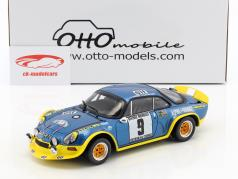 Alpine A110 Turbo #9 Winner Rally Cevennes 1972 Therier, Callewaert 1:18 OttOmobile