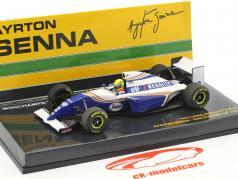 Ayrton Senna Williams FW16 #2 San Marino GP formula 1 1994 1:43 Minichamps