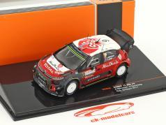 Citroen C3 WRC #9 Rallye Sardegna 2017 Mikkelsen, Synnevaag 1:43 Ixo