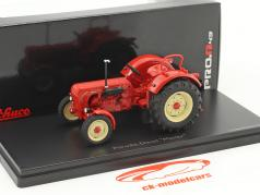 Porsche Master tractor red 1:43 Schuco