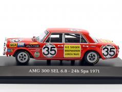 Mercedes-Benz AMG 300 SEL 6.8 #35 2nd 24h Spa 1971 Heyer, Schickentanz 1:43 Minichamps