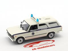 Fiat FSO 125P Ambulance white / blue 1:43 Altaya