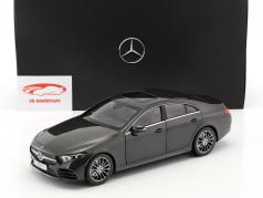 Mercedes-Benz CLS-Class Coupe C257 graphite grey metallic 1:18 Norev