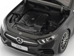 Mercedes-Benz CLS-Class Coupe C257 graphite gris métallique 1:18 Norev
