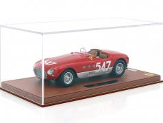 Ferrari 340 Spider Vignale #547 Winner Mille Miglia 1953 Marzotto, Crosara With Showcase 1:18 BBR