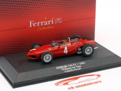 Wolfgang Graf Berghe von Trips Ferrari 156 Sharknose #4 2nd formula 1 1961 1:43 Atlas