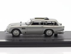 Aston Martin DB5 Shooting Brake Harold Radford Opførselsår 1964 sølv metallisk 1:43 Matrix
