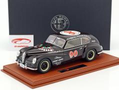 Alfa Romeo 6C 2500 Freccia D'Oro #90 Carrera Panamericana 1950 Taruffi, Ceroli With Showcase 1:18 BBR