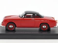 Porsche Teram Puntero year 1958 red / black 1:43 AutoCult