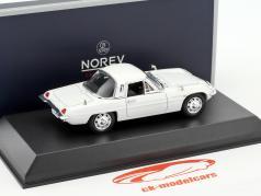 Mazda Cosmo Sport L10B ano de construção 1968 branco 1:43 Norev