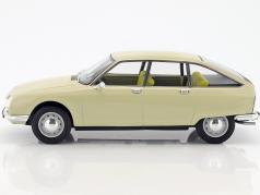 Citroen GS ano de construção 1971 bege 1:18 Norev