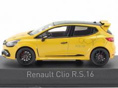 Renault Clio R.S. 16 ano de construção 2016 amarelo 1:43 Norev