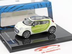 Citroen C-Cactus Concept Car year 2007 white / lime metallic 1:43 Norev