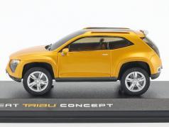 Seat Tribu Concept Car year 2007 orange metallic 1:43 Norev
