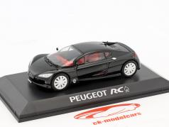 Peugeot RC Pique Concept Car schwarz in Blister 1:43 Norev