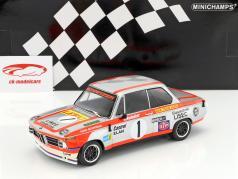 BMW 2002 TI #1 gagnant 1000km Österreichring 1974 Manhalter 1:18 Minichamps