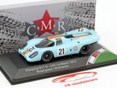 Porsche 917K #21 24h LeMans 1970 Rodriguez, Kinnunen 1:43 CMR