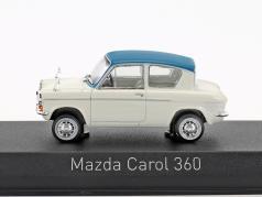 Mazda Carol 360 year 1962 white / light blue 1:43 Norev