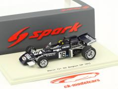 Carlos Pace March 721 #16 Belgien GP Formel 1 1972 1:43 Spark