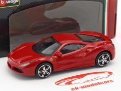 Ferrari 488 GTB rot 1:43 Bburago