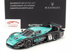 Maserati MC12 #1 Gagnant FIA GT1 Championnat 2010 Bartels / Bertolini 1:18 AUTOart