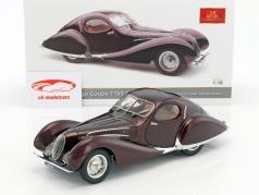 Talbot Lago Coupe T150 C-SS Figoni & Falaschi année de construction 1937-39 Bordeaux rouge 1:18 CMC