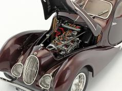 Talbot Lago Coupe T150 C-SS Figoni & Falaschi year 1937-39 bordeaux red 1:18 CMC