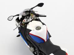 BMW Motorrad S 1000 RR Alpine white / lupine blue / magma red 1:10 ParagonModels
