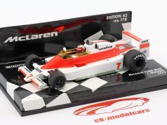 John Watson McLaren Ford M28 #7 Formel 1 1979 1:43 Minichamps