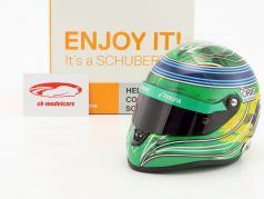 Felipe Massa Williams FW40 Abu Dhabi GP Formel 1 2017 Final Race Helm 1:2 Schuberth