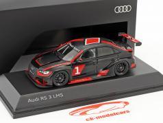 Audi RS 3 LMS #1 Präsentation warpaint 1:43 Spark
