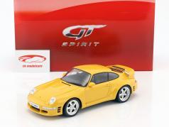 Porsche 911 (993) RUF CTR2 Sport année de construction 1997 vitesse jaune 1:18 GT-Spirit