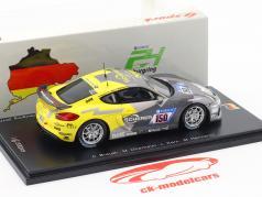 Porsche Cayman 981 GT4 Clubsport #150 24h Nürburgring 2017 Manthey Racing 1:43 Spark